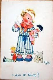 """Résultat de recherche d'images pour """"old children postcard"""""""