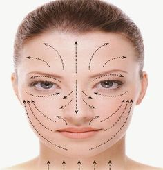 facial lines facial spoon massage to fight the signs of aging