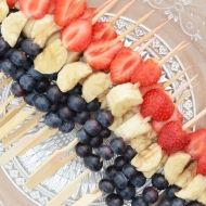 Red-white-blue snack