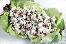 Tarragon Chicken Salad With Toasted Hazelnuts