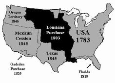 Growth of the United States.