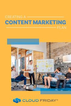 Creating a content plan can feel daunting when you're running a small business but it can take your small business marketing to the next level! Creating a content marketing strategy is key to growing your business online. In this article, we'll teach you how to create a content marketing plan and give content marketing ideas. #smallbusinesstips #smallbusinessmarketing #tipsandtricks