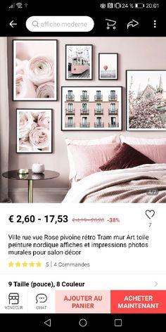 Decoration, Ikea, Gallery Wall, Home Decor, Impressionism, Living Room, Modern, Decor, Decoration Home