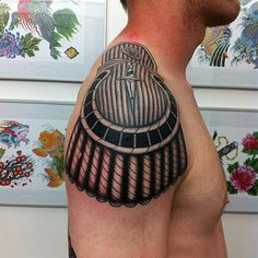 Epaulette tatoos