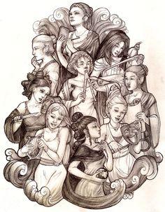 .: Mundos da Mi :.: Celebração grega da deusa Mnemosyne - 15 de Junho