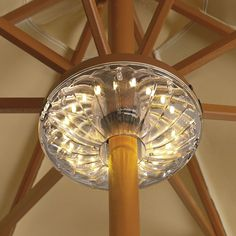 String Lights Under Umbrella : 1000+ images about Outdoor lighting on Pinterest Gazebo, LED and Outdoor gazebos