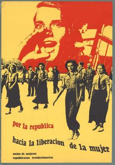 "Spanish Civil War: ""Hasten the Liberation of Women. Publisher: Unión de Mujeres Republicanas Revolucionarias (Union of Revolutionary Republican Women) - Visit to grab an amazing super hero shirt now on sale"