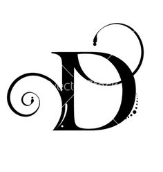 134 Best Letter D Images On Pinterest Letter D Names And Calligraphy