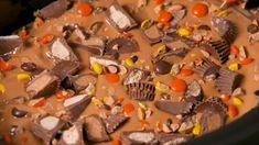 Crock-Pot Reese's Cake - Delish.com