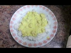 Ryż z kurczakiem w sosie śmietanowo-cebulowym
