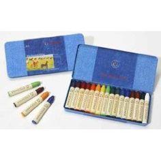 Stockmar Beeswax Stick Crayons - Set of 16