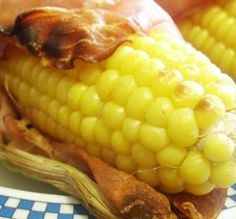 BACON WRAPPED CORN ON THE COB