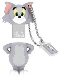 EMTEC Tom and Jerry 8 GB USB 2.0 Flash Drive, Tom Emtec https://www.amazon.com/dp/B00FZ69N52/ref=cm_sw_r_pi_dp_x_r6YMybGSQ105G