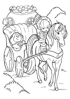 Rainbow Brite Printable Coloring Pages Nola My Love