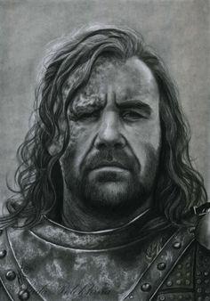 Sandor Clegane by slightlymadart