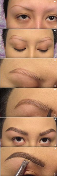 Eyebrow tutorial for shaved off eyebrows; chemo brows; no hair brows; brow tutorial; shaved brows; shaved eyebrows -