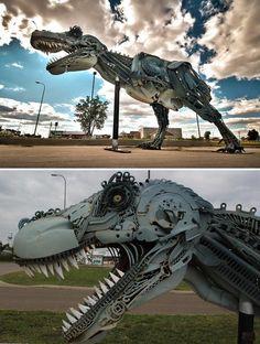 Dinosaur  Interested in Art? Check out the artist Leo Alexander Scott ....  http://leoalexanderscott.mackaycreatives.com.au