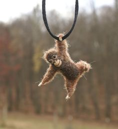 how cute are these, hanging baby animal necklaces.