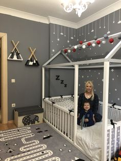 , The Effective Pictures We Offer You About Montessori attivit A quality picture can tell you many things. You can find the most beautiful pictures that can be presented to you about Montessori school Toddler Floor Bed, Boy Toddler Bedroom, Toddler Rooms, Baby Bedroom, Baby Boy Rooms, Baby Room Decor, Nursery Room, Girls Bedroom, Childrens Rooms
