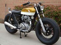 "Honda CB350 ""Brat Style"""