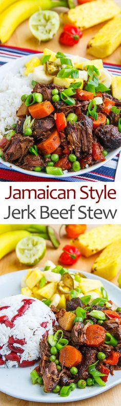 Jamaican Style Jerk Beef Stew                                                                                                                                                                                 More