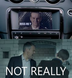 I DID miss him SO MUCH (my precious baby!) in fact, but this is too funny #Sherlock #Moriarty