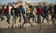 Ceuta, Morocco, Spain, FRONTEX, borders, EU, immigration, trans-Sahara