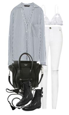 """""""Untitled #7637"""" by nikka-phillips ❤ liked on Polyvore featuring Hanky Panky, Zara, Lanvin and Marc by Marc Jacobs"""