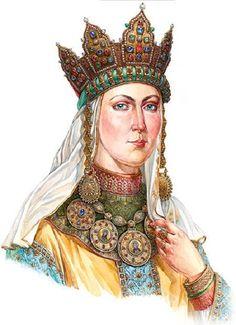 Ancient jewelry headwear of Russian women | Viola.bz