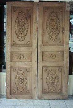 Carved door.Turkey