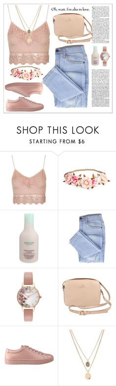 """Combine #22"" by perfectgirll on Polyvore featuring moda, Topshop, June Jacobs Spa Collection, Olivia Burton, GUESS, Kenneth Cole, love, Pink, beautiful ve girl"