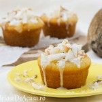 Briose de post cu nuca de cocos Coco, Cheesecake, Muffin, Cupcakes, Breakfast, Desserts, Dessert Ideas, Morning Coffee, Tailgate Desserts