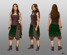 "willhummel: "" infinitemachine: "" Character of the Day: Spindrift - Costume designs Wen by ElsaKroese "" That's a legit wood elf monk. Female Character Concept, Fantasy Character Design, Character Creation, Character Design Inspiration, Character Art, Character Ideas, Writing Inspiration, Dnd Characters, Fantasy Characters"