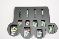 1 Box Dental Fiber Set 20 pcs Fiber Post & 4 Drills Dentist Product #Haodental