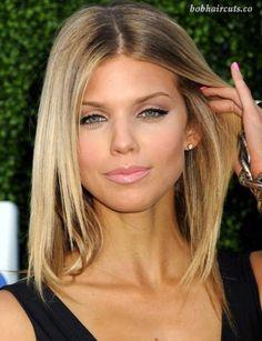45 Medium and Short Hairstyles for Thin Hair #BobHaircuts