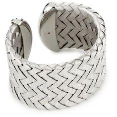 Roberto Coin Sliver Large Cuff Bracelet