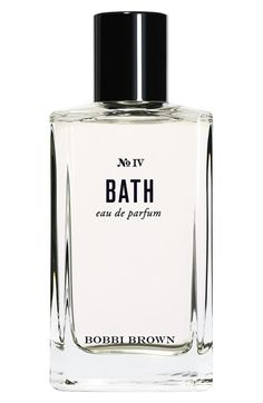Bobbi Brown 'Bath' Eau de Parfum contains notes of water hyacinth, orange flower and white lily for a light scent that lingers all day.