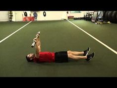 1403 Barbell Straight Leg Sit Up - YouTube