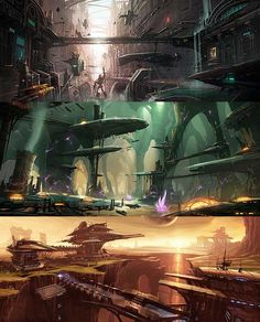 Freaking Ratchet and Clank Art Direction