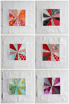Kathy's Block from Liberated Quiltmaking -- on my short list to try!