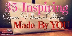 35 Inspiring open when letters made by YOU - LDR Magazine by leila Open When Letters Topics, Ldr Gifts, Shower Bebe, Boyfriend Gifts, Boyfriend Ideas, Letter Example, Finding Love, Love And Marriage, Gifts For Him