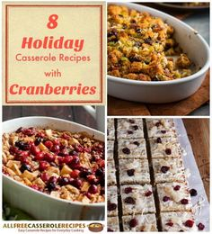 8 holiday casserole recipes with cranberries easy christmas