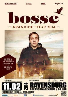 #Oberschwabenhalle #OberschwabenKlub #Bosse #Buvisoco #Konzert #Ravensburg #Bodensee #Musik