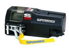 Superwinch 1430200 S3000, 12 VDC winch, 3,000lb/1360 kg single line pull with roller fairlead & 30' remote by Superwinch. $455.04. Amazon.com                The Superwinch S3000 Trailer Winch is designed for fast-and-easy installation, and is the ideal intermittent-duty choice for all your trailer winching needs. Race proven, this winch has a powerful motor, an integrated sealed switching solenoid, and rugged handheld remote. Other standard features include pow...
