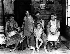 The Great Depression (not 19th century, but evocative of poverty & misery then)