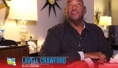 Lavell Crawford gives tips to young comics -