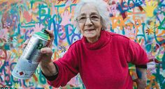 Graffiti grannies –