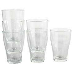IKEA - BEHÄNDIG, Glass, Can be stacked inside one another to save space in your cabinets when not in use.