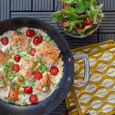 Creme, Salmon Skillet, Vegetable Pizza, Pasta Salad, Quiche, Food And Drink, Vegetables, Dessert, Breakfast