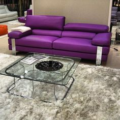 Modern High End Leather Sofa And Chair Furniture Toronto